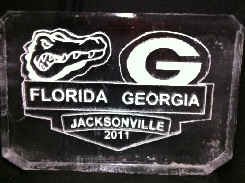 Collage Football Plaque