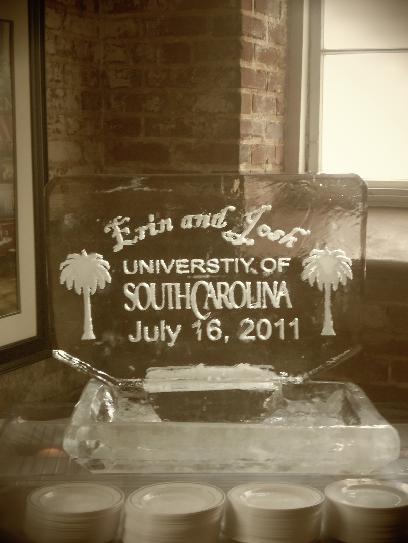 South Carolina Seafood Tray with Plaque