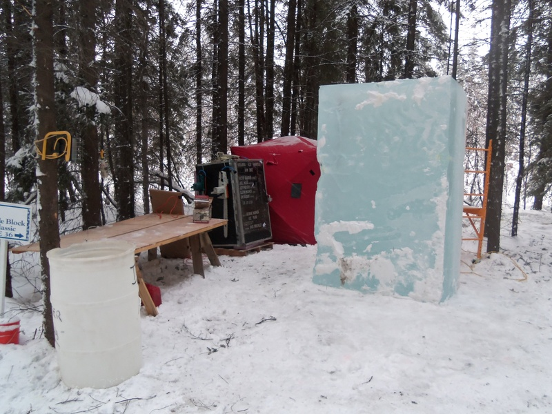 Ice Blocks in Alaska