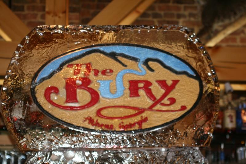 The Bury Athens, GA. Logo